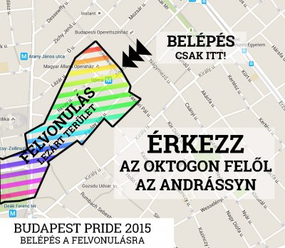 Budapest  Pride March 2015